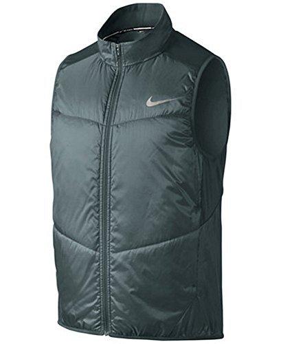 NIKE Men's Polyfill Light Running Vest-Sage-XL