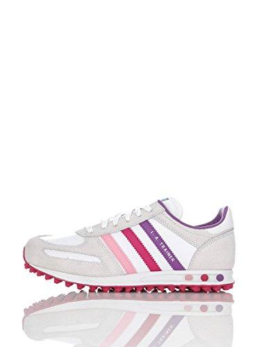 Vaaleanpunainen Adidas Lenkkarit Boys top K Valkoinen Violetti Monivärinen Matala qvrqaw8