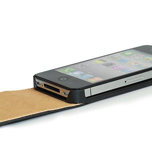 HSR Flip Case Cover für iPhone 4 / 4S in Rot
