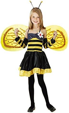 Disfraz de Abeja niña infantil para Carnaval 10-12 años: Amazon.es ...
