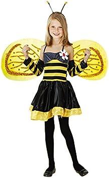 Disfraz de Abeja niña infantil para Carnaval 2-4 años: Amazon.es ...