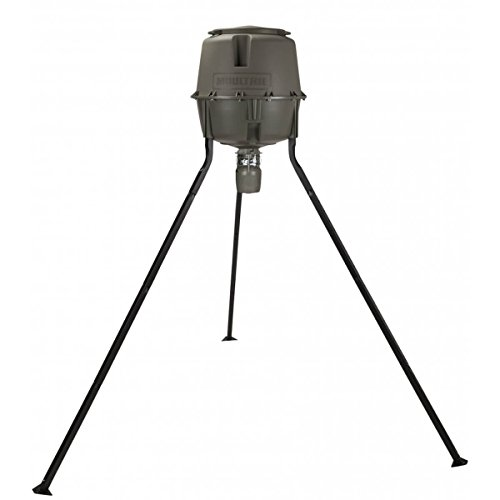 Moultrie Deer Feeder Unlimited Tripod | 30-Gallon Hopper | Easy Set Digital  Timer | Quick-Lock Design