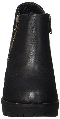 Xti 063658, Bottines Femme, Gris Noir (Black Black)