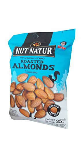 Loccitane Almond Delicious Paste (3 packs of Roasted Almonds. The Signature of Nuts, Roasted not Fried by koh kae. (35 g/)