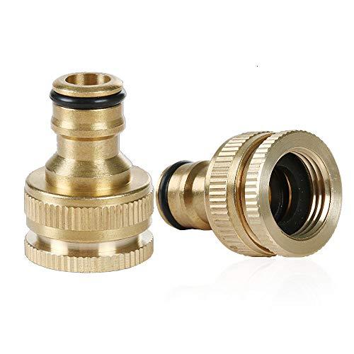Quick Connect Faucet Coupler - 2