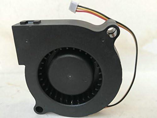 De Xiang for EVERCOOL EC5015L12EA-B 12V 0.10A 5CM 5015 Blower Cooling Fan