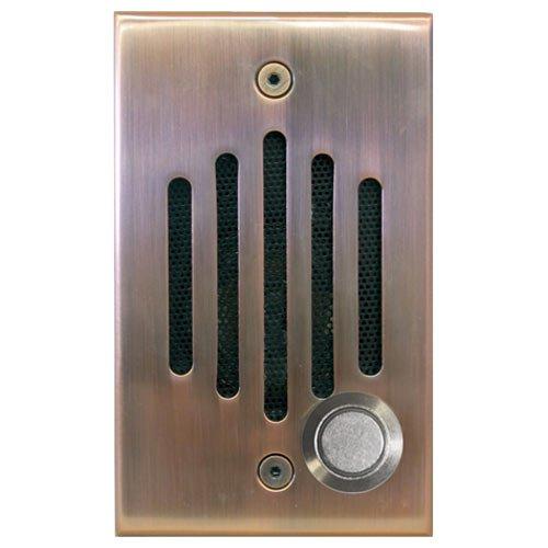 Channel Vision CVIU0x-CVIU0262 IU Door Speaker, Antique Copper - P-0920 P-0921 Compatible Channel Vision Intercom