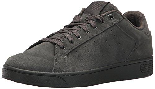 K-Swiss Women's Clean Court SDE CMF Sneaker, Gunmetal, 10 M US