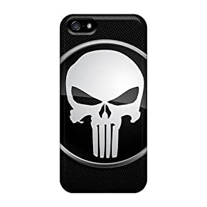 Fashion Protective Punisher Logo For Iphone 4/4S Case Cover