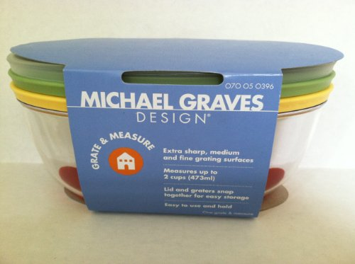 Michael Graves Design Grate And Measure Storage Container Buy