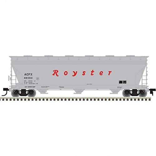 ★お求めやすく価格改定★ Atlas HO HO 20004803 ACF 4650 4650 Centerflow ACF Hopper, Royster # 48090 B07DYT55M6, ラッピング倶楽部:e35b880c --- a0267596.xsph.ru