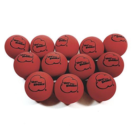 SKY BOUNCE Red Handball Set Of 12 (1 ()