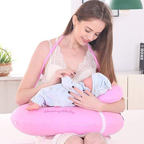 XBC Las Mujeres Embarazadas Almohada Multifunción en Forma de u Almohada de Lactancia Almohada Almohada de Algodón en Forma...