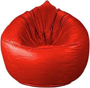 SM Red Sofa Bean Bag Xxl Size Super Classic Quality Sofa (Without Filling  Only Cover