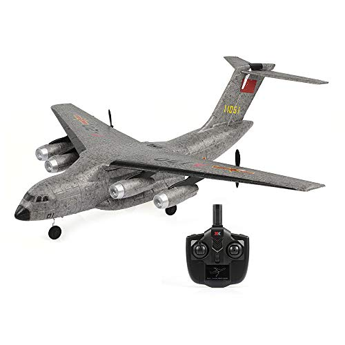 (GoolRC XK A130 Airplane Xian Y-20 Model Military Transport Aircraft 3CH EPP 2.4G Remote Control Airplane Fixed-Wing RTF Toy)