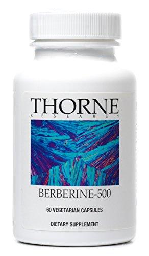 Thorne Research - berbérine-500 - botanique composé à soutenir le métabolisme du sucre dans le sang - 60 Capsules végétariennes