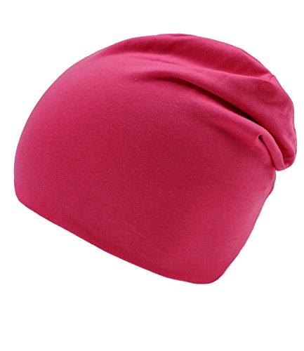 595058 De FI Jersey Otoño incl Tapa HE0 Año El Gorro Fiebig Hombre Invierno Hutfibel Beanie Todo Entretiempo Para Sombrero Color Rosa EveryHead Un Hombres W16 C5UqTw