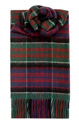of Clanranald Tartan Lambswool Scarf (Pure Lambswool Check)
