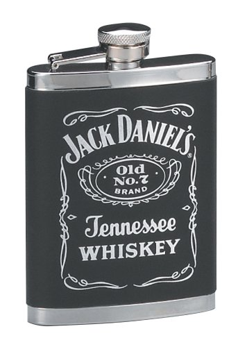 Jack Daniels Leatherette Cover Flask (Excalibur Flask)