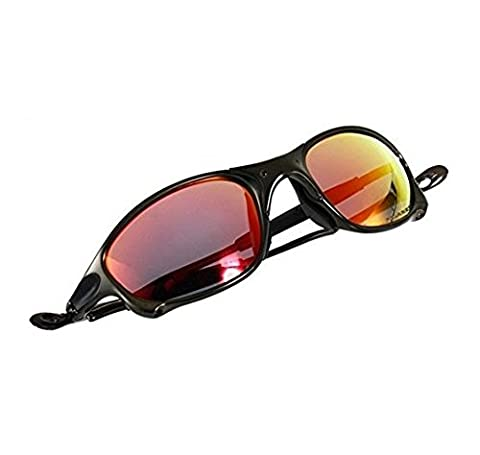 Best clear Aluminum alloy mountain bike sunglasses for riding running cycling (Aluminum Case Sunglasses)