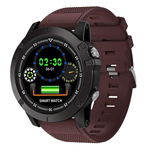 WQYRLJ IP67 Waterproof Dual Cpus Smart Watch Smart Step Counter Android Bluetooth IOS Long Standby Sports Watch for Men