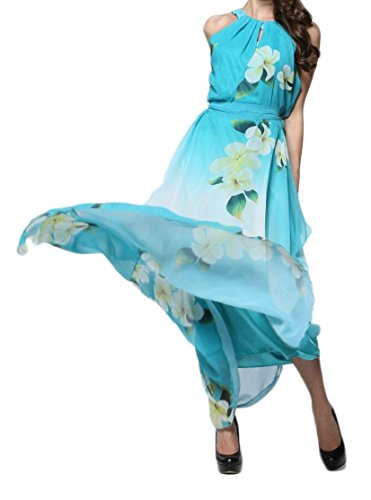 As Chiffon Floral Dresses Women Picture Beach Size Jaycargogo Over 1Fwnaq76O