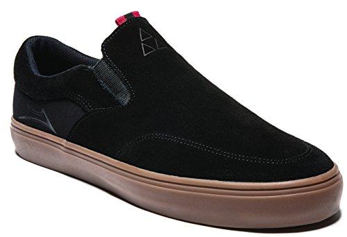 Lakai Mens Owen Noir / Caoutchouc Daim Sneaker 13 D (m)