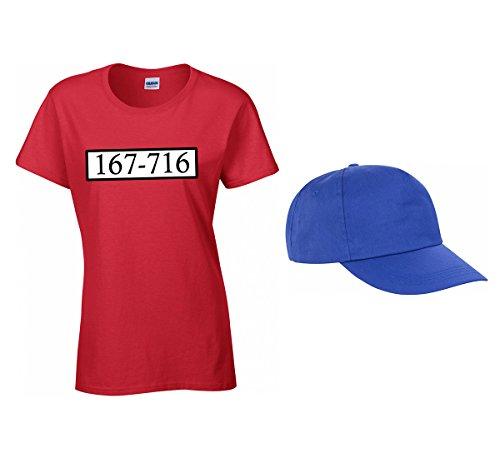 T Jga Mini cap T Bassotti 2store24 Uomo Da 167 Carnevale A Costume shirt shirt Banda 716 Set w8x7AI1q