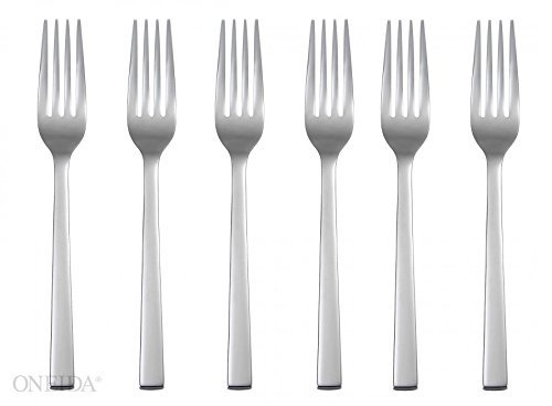 Oneida Chef's Table Stainless Steel Flatware - Dinner Forks (6)
