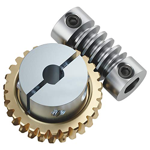 27:1 Worm Gear Set (1/4