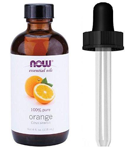 NOW Foods Orange Oil Sweet, 4 Ounce 1 Glass Dropper