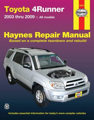 toyota 4runner repair manual - 5