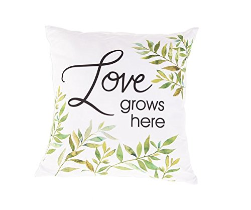Everyday Gifts Love Grows Here Decorative Pillow