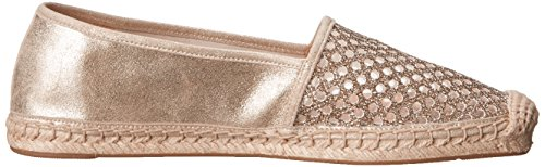 Badgley Mischka Womens Carrisa Moccasin Platino
