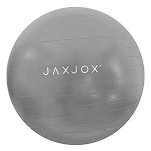 JAXJOX Balance Stability Gym/Swiss Ball 65cm (pump included), Grey