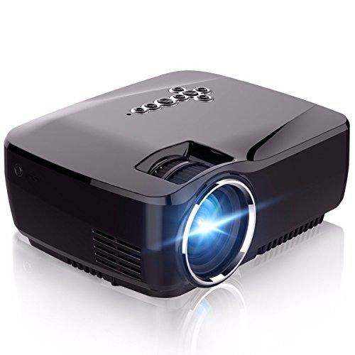 WiFi Projector,ELEGIANT 1200 Lumens Wireless Mini LED Vid...