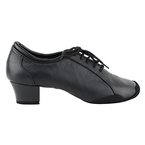 50 Nuances Dhommes Latine 1.5 Haut Talon Chaussures De Danse Collection De Chaussures (large Largeur Disponible): Confort Salle De Bal, Latin, Salsa, Theather Art Par Parti Party Cd9319 En Cuir Noir