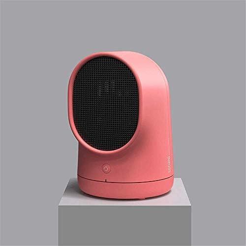 ZHWEI ヒーター対流、温度調節や熱保護と、ファンヒーター、PTCヒーター ポータブル (Color : Pink)