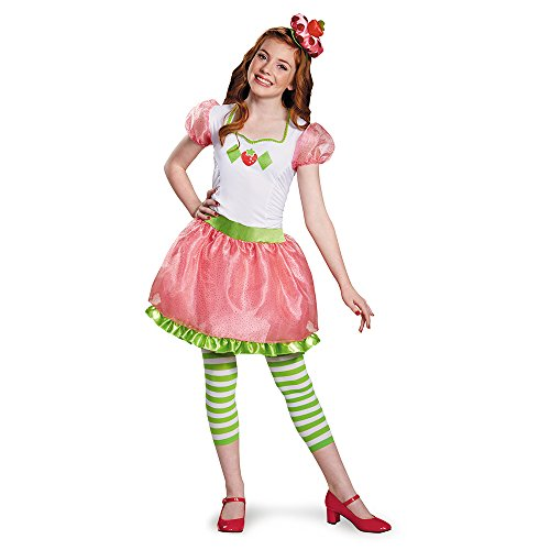 (Strawberry Shortcake Tween Costume, One Color, Large (10-12))