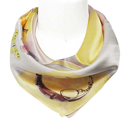 Wrapables 100 Neckerchief Square Scarf