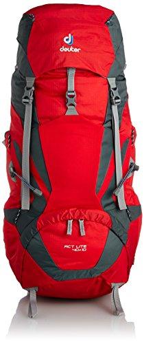 Deuter ACT Lite 40 + 10 Ultralight Trekking Backpack, Fire / Granite