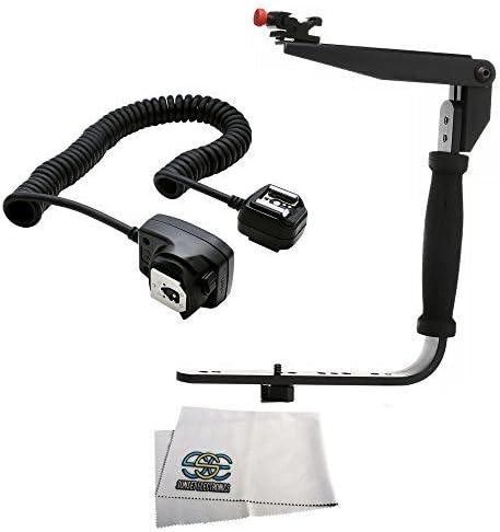 TTL Off Camera Shoe Cord Nikon D3300 D3400 D5500 D5600 D7200 D7500 D600 D610 D700 D750 D800E D810 D850 Cameras W//Any Nikon SB910 SB900 SB800 SB700 SB600 SB5000 SB400 SB300 Flash Flash Bracket Grip