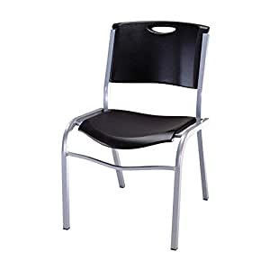 Amazon Com Lifetime Commercial Contoured Stacking Chair