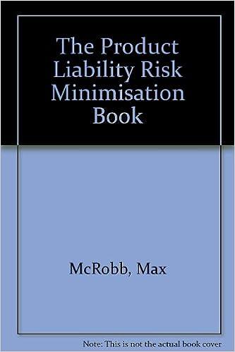 Read The Product Liability Risk Minimisation Book PDF, azw (Kindle), ePub, doc, mobi