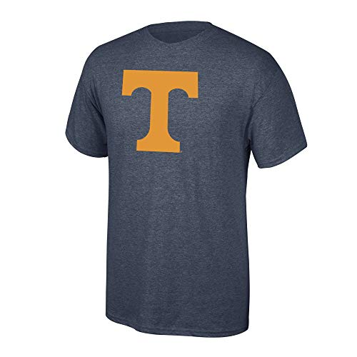 Elite Fan Shop NCAA Men's Tennessee Volunteers T Shirt Charcoal Icon Tennessee Volunteers Charcoal X Large