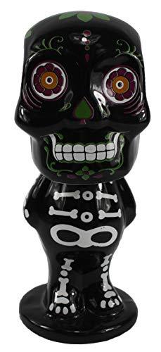 Connie N Randy Day of The Dead Ceramic Skeleton Bobble - Bobble Head Ceramic