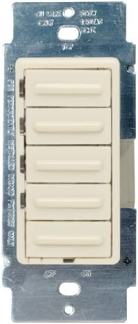 [DIAGRAM_5FD]  Leviton 6161-A 500 W, 120 VAC, Decora 4-Level Step Dimmer, Almond - Wall  Dimmer Switches - Amazon.com | Leviton 6161 Dimmer Wire Diagram |  | Amazon.com