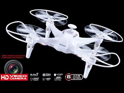 Drone QuadCopter X6 Con Cámara HD, 6 Ejes y Función de Retorno ...