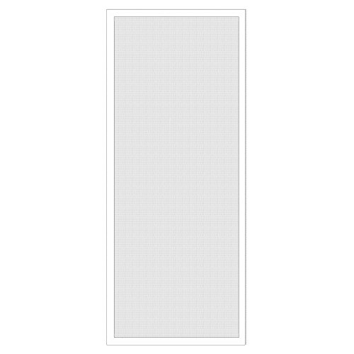 National Door Company Z009462 Aluminum White Patio Screen Door, 30'' x 80'' by National Door Company