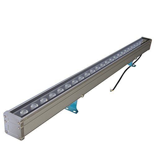 Led Wash Bar - RSN LED 24W Linear Bar Light Cool White 6000K Outdoor Wall Washer IP65 Waterproof 2 Years Warranty